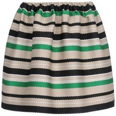 MSGM Mini skirt ($305) ❤ liked on Polyvore