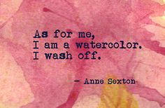 Anne Sexton. One of my favorite poems of all time!