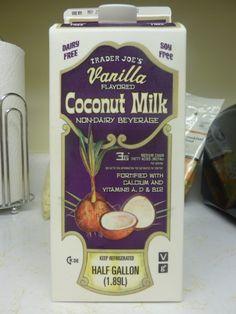 What's Good at Trader Joe's?: Trader Joe's Vanilla Coconut Milk