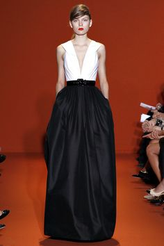Andrew Gn Spring 2013 RTW Collection via style.com - Classic!