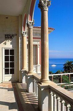 Villa Ephrussi de Rothschild, Saint-Jean-Cap-Ferrat, Alpes-Maritimes, French Riviera, Cote dAzur, France