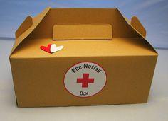 Ehe-Notfall-Box von Smilland auf DaWanda.com