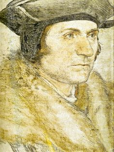 HOLBEIN Hans the Younger (c.1497-1543) - Sir Thomas More , 1527