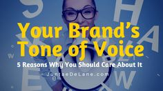Your Brand's Tone of Voice: 5 Reasons Why You Should Care About it | by @JuntaeDeLane | #Branding #ContentMarketing