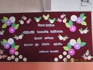 visual result of the teachers day - Lombn Sites Creative Crafts, Diy And Crafts, Phonics Chart, Investiture Ceremony, Board Decoration, Decoration Party, Puppet Crafts, Classroom Bulletin Boards, Color Crafts