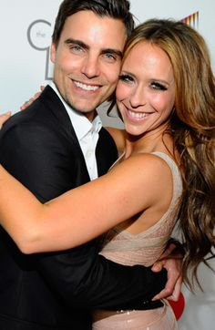 "Colin Egglesfield & Jennifer Love Hewitt: co-starts in ""The Client List"""