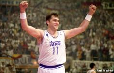 Arvydas Sabonis #RealMadrid #ACB