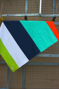 Baby Boy Blanket  Modern Pieced Colorblock  by dapperdillsbaby, $50.00 - could so easily make this...