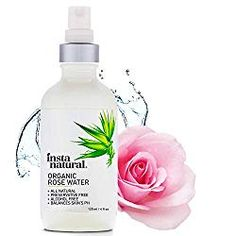 InstaNatural Rose Water Facial Toner for Face, Hair, Body - Organic, Natural Anti Aging Mist - Eau Fraiche - Alcohol Free - Hydrating Primer & Setting Spray for Pore Minimizing & Tightening - 4 OZ : Beauty Water Spray For Face, Face Spray, Best Facial Toner, Toner For Face, Face Facial, Best Rose Water, Hydrating Primer, Organic Roses, Natural Preservatives