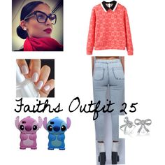 Cooly Outfit 25 by daijah-thomas on Polyvore featuring Bling Jewelry and Pink Stitch