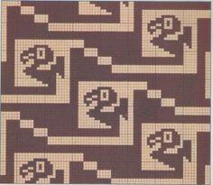 - bibliotheque dmc - motif precolombiens