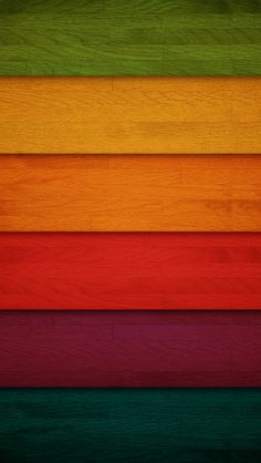 Colored Wood iPhone 5 wallpaper-home screen