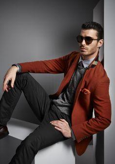 Andy Richardson, model.