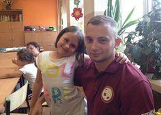 Julia z trenerem Wojtkiem