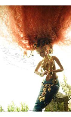 Mystic Doll - Stardust Mermaid; Suntan Tara - LE30   Dollmore.net #3