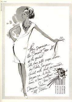 So great! Kenneth Paul Block for Bonwit Teller 1966