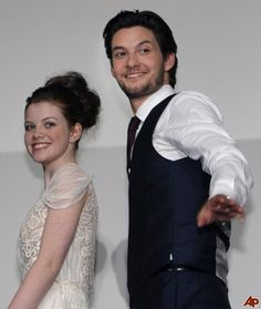 Georgie Henley   Ben Barnes ~  'The Chronicles of Narnia: The Voyage of the Dawn Treader' premiere at the Nichigeki Theater on February 13, 2011 in Tokyo, Japan