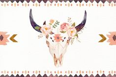 Watercolour Tribe&Flower DIY+Bonus - Illustrations - 2
