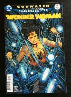 NM #1A 2017 DC 2017 Wonder Woman Steve Trevor