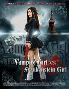 vampire posters | Vampire Girl vs. Frankenstein Girl