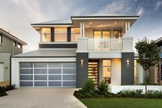 The Rockwell © Ben Trager Homes | Perth Display Home | Modern Facade Elevation