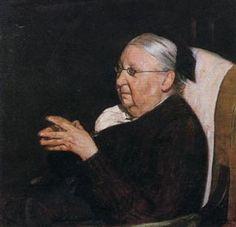 Gertrude Jekyll (1843-1932) gardener extraordinare. (National Portrait Gallery)