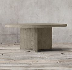 Ludlow Rectangular Dining Table - Ash Grey Oak | RH