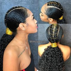 I have this heat-free sleek ponytail on natural hair up with Asha Sarode on my Y Natural Hair Ponytail, Sleek Ponytail, Curly Ponytail Weave, Styling Natural Hair, Natural Hair Weaves, Texturizer On Natural Hair, Braid Hair, Natural Hair Tips, Natural Oils