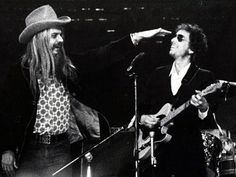 Leon Russell and Bob Dylan