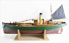 model of the trawler 'John Albert', of Lowestoft, LT147