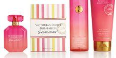 The Dieline - Victorias's Secret Bombshell Summer | Beautiful Packaging.