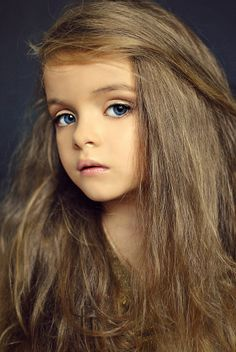 Milana Kurnikova, a Russian child model. {Leigh}
