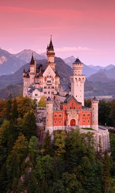 Beautiful Castles, Beautiful Buildings, Beautiful World, Beautiful Places, The Places Youll Go, Places To Go, Germany Castles, Neuschwanstein Castle, Fairytale Castle
