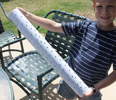 DIY Rainstick Craft - mailing tube, nails AND duct tape!   or younger child/cheaper version...paper towel tube, cut up strawberry baskets and popcorn. :)