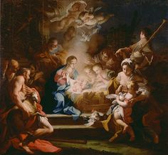 The Adoration of the Shepherds, Sebastiano Conca, 1720