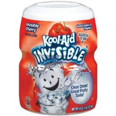 Kool-Aid Drink Mix, Sugar Sweetened Invisible Cherry, 19-Ounce Container (Pack of 4) (Grocery) http://www.amazon.com/dp/B001EQ4W4Y/?tag=wwwmoynulinfo-20 B001EQ4W4Y