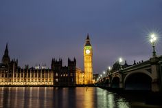 Big Ben and Houses of Parliament - The night arrives quite quickly in London. It was 4:30 PM local time when I found the spot along the river with a view on Big Ben, Houses of Parliament and Westminster Bridge.  Captured in RAW and post-processed in Lightroom CC (2015) and Photoshop Cc (2015).  © Copyright: The reproduction, publication, modification, transmission or exploitation of any work contained herein for any use, personal or commercial, without my prior written permission is…