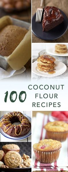Coconut flour recipes | Empowered Sustenance Low Carb Desserts, Gluten Free Desserts, Healthy Desserts, Low Carb Recipes, Cooking Recipes, Diabetic Snacks, No Flour Recipes, Bread Recipes, Coconut Flour Cakes