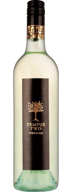 Tempus Two Verdelho. Crisp, fruity and clean. Almost sour. Big flavours that don't linger.