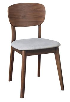 The Oslo Walnut Dining Range combines mid-century styling to create a fashionable range that will add character and a pop of colour to your home. The Oslo Walnut Dining Chair features tapered legs, a wooden back and a Linen upholstered seat. Walnut Dining Chairs, Upholstered Dining Chairs, Dining Room Chairs, Dining Rooms, Dining Area, Walnut Furniture, Cheap Furniture, Quality Furniture, Balcony Chairs