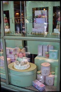 Window display of Laduree