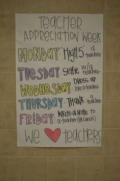 custodian appreciation gifts Seeking a thank you so much souvenir utilizing a individual contact? Teacher Lunches, Teacher Gifts, Staff Gifts, Volunteer Gifts, Spirit Week Themes, Spirit Weeks, Spirit Day Ideas, Teacher Morale, Staff Morale