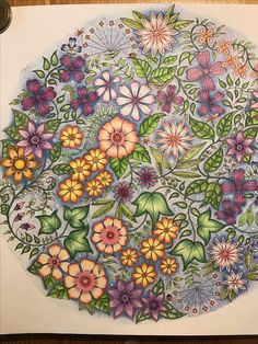 johanna basford paint with prismacolor
