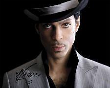 REPRINT - PRINCE Rogers Nelson #6 Purple Rain autographed signed photo copy