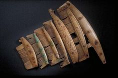Viking combs fount at Birka, Sweden
