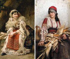 Pierre Auguste Renoir, Henri Matisse, Folklore, Sari, Victorian, Costume, Romania, Dresses, Blog