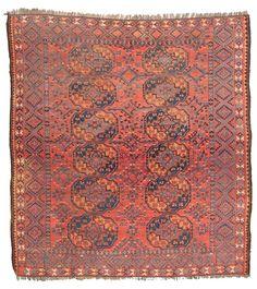 Ersari Main Carpet 245 x 230 cm (8ft. x 7ft. 7in.) Turkmenistan second half 19th century