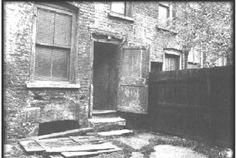 Rear of 29 Hanbury St., where Annie Chapman was killed.