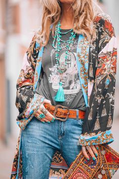 bohemian fashion - Google Search Boho Outfits, Boho Sommer Outfits, Country Outfits, Country Girls, Fashion Outfits, Bohemian Mode, Boho Chic, Bohemian Girls, Boho Hippie