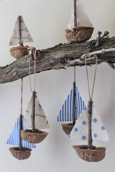 Seashell Crafts, Beach Crafts, Diy Home Crafts, Summer Crafts, Handmade Crafts, Driftwood Projects, Driftwood Art, Diy For Kids, Crafts For Kids